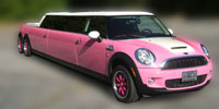 bmw mini cooper barbie edition limo